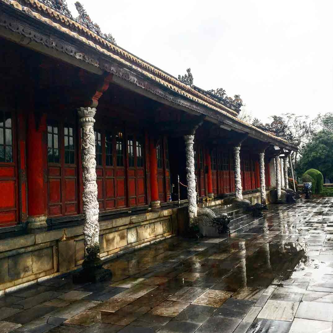 Vietnam - Palacio de Thai Hoa