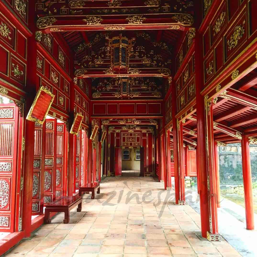 Vietnam -Templo Thei Mieu
