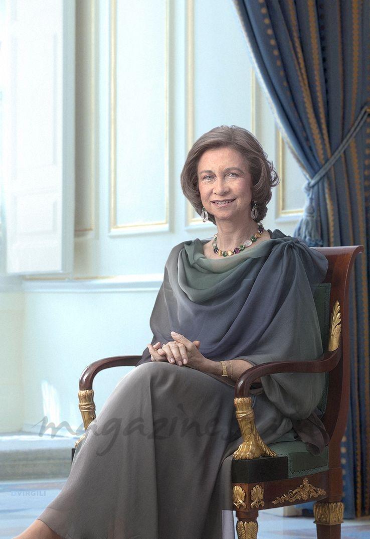 Fotografía oficial de S.M. la Reina Doña Sofía © Casa S.M.El Rey/Dany Virgili