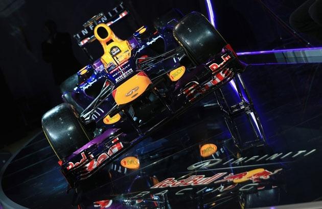 Red Bull continúa con el morro escalonado
