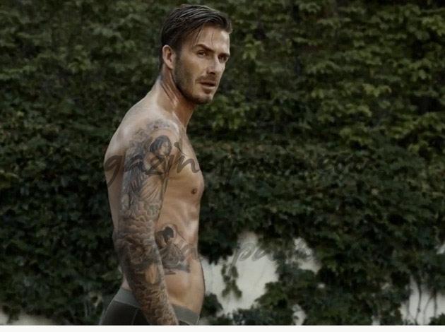 David Beckham en calzoncillos por Beverly Hills