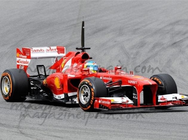 Fernando Alonso rueda por primera vez con el F138