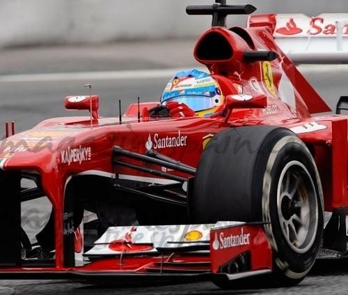 Fernando Alonso en su Gran Premio 200 tuvo que abandonar