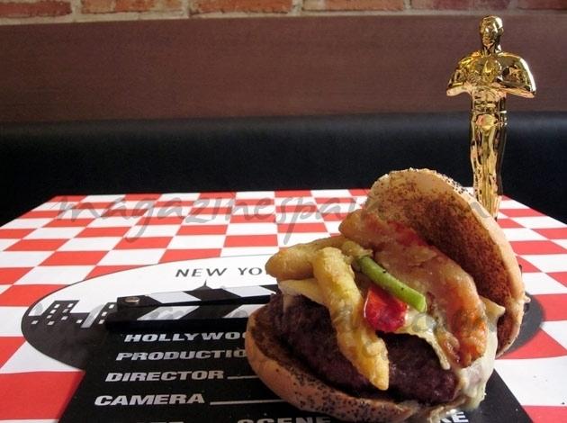 Alfombra roja, los Oscars… y una hamburguesa única