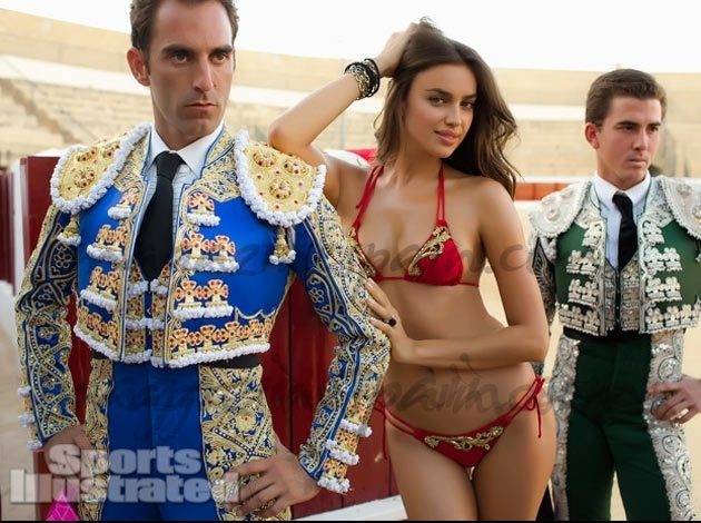 Irina Shayk «torera» para Sport Illustrated
