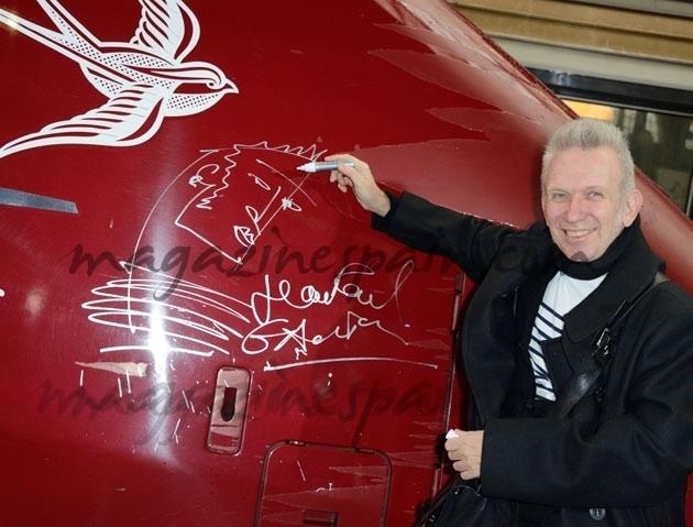 J.P.Gaultier ahora decora trenes