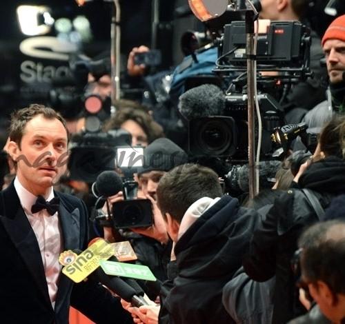 Jude Law en el Festival de cine de Berlin