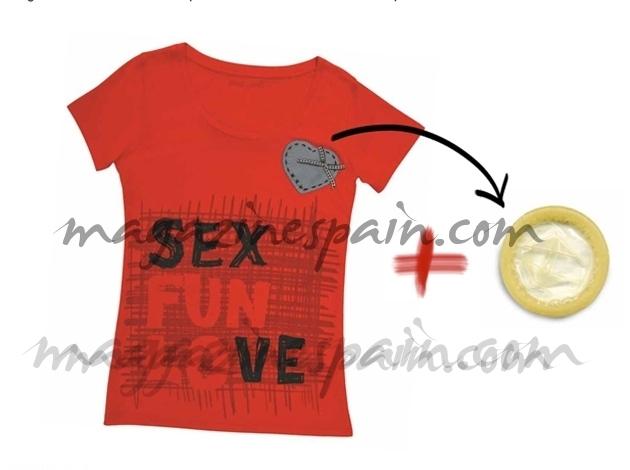 San Valentin : Camiseta con sorpresa