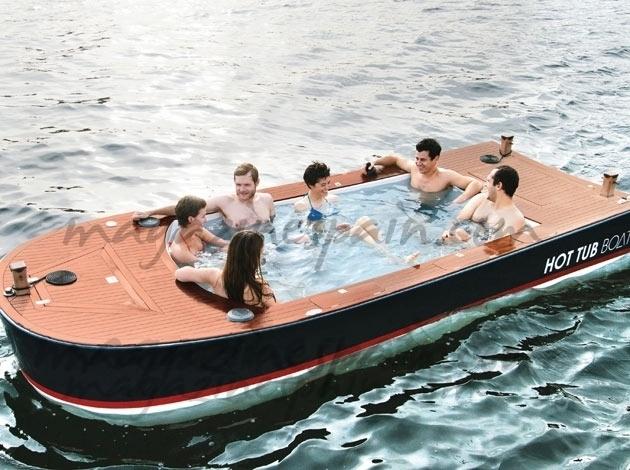 Un lujo en alta mar… El barco jacuzzi