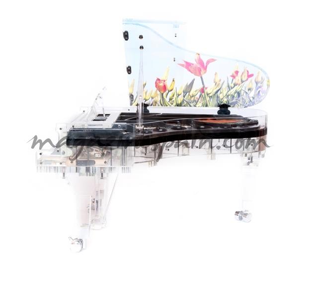 piano de cristal