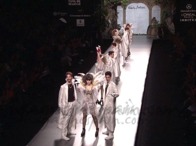 Desfile Montesinos Mercedes Benz Fashion Week Madrid