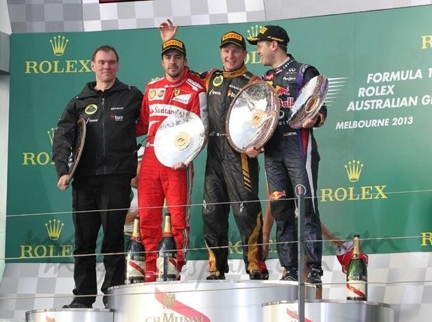 Fernando Alonso, segundo en Australia