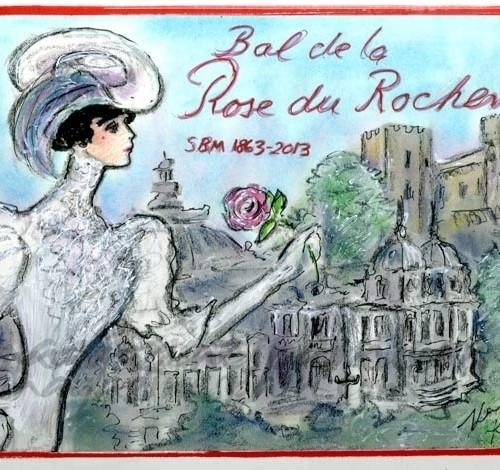 Baile de la Rosa en Monaco
