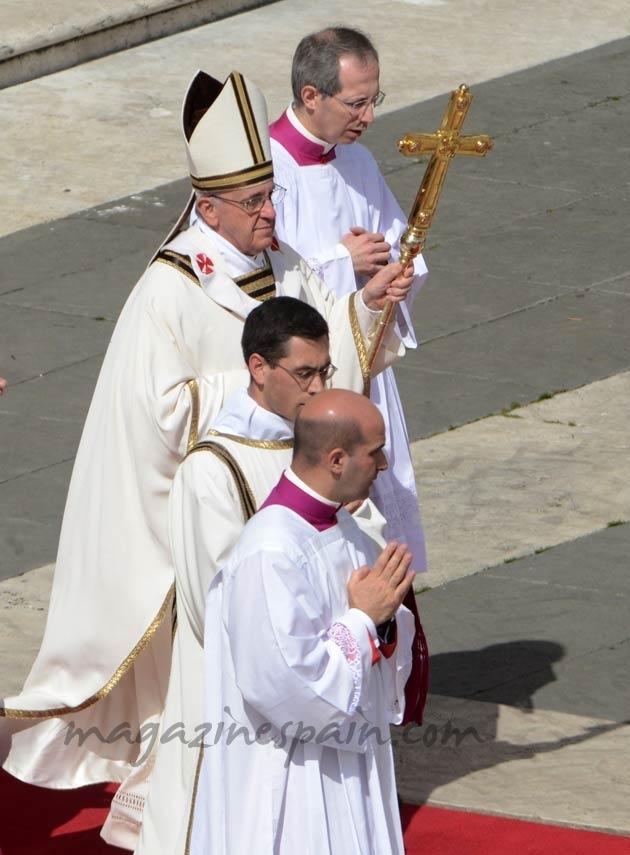 Entronización Papa Francisco