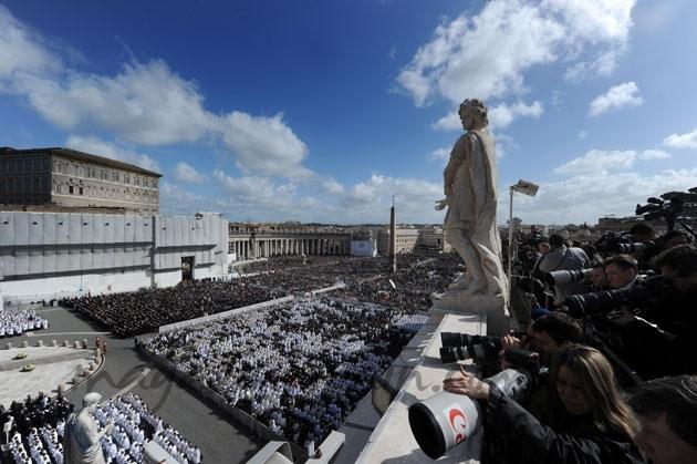 Periodistas Papa Francisco I