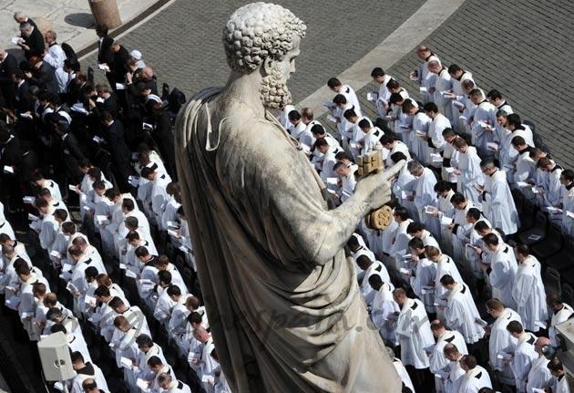 Estatua San Pedro Vaticano