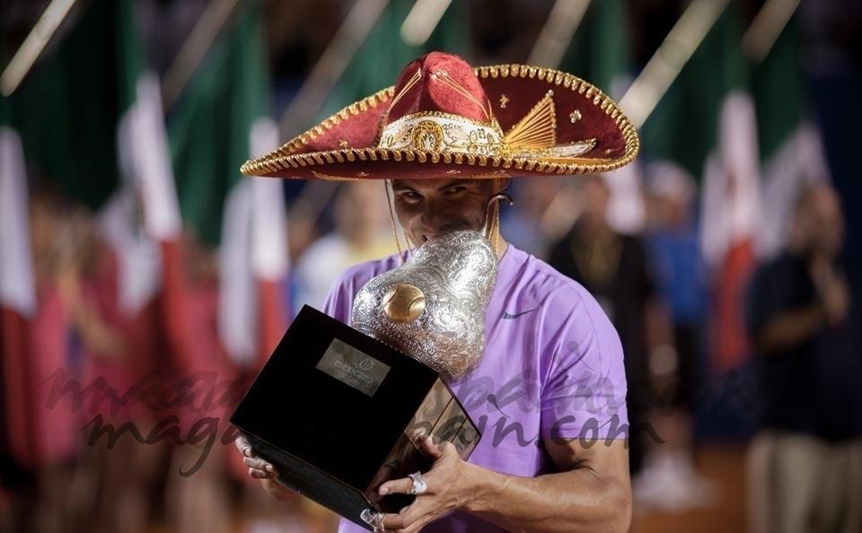 Rafa Nadal ganador en Acapulco