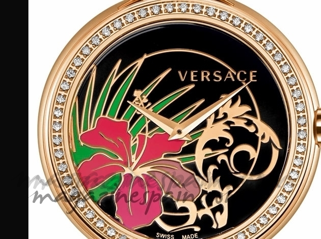 Una hora de lujo con Versace