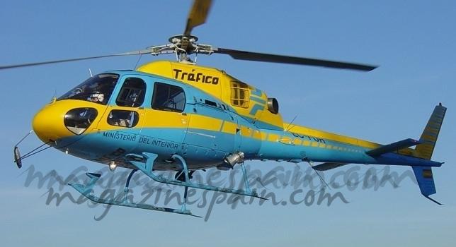 El Helicóptero «Pegasus» vigilará nuestra velocidad