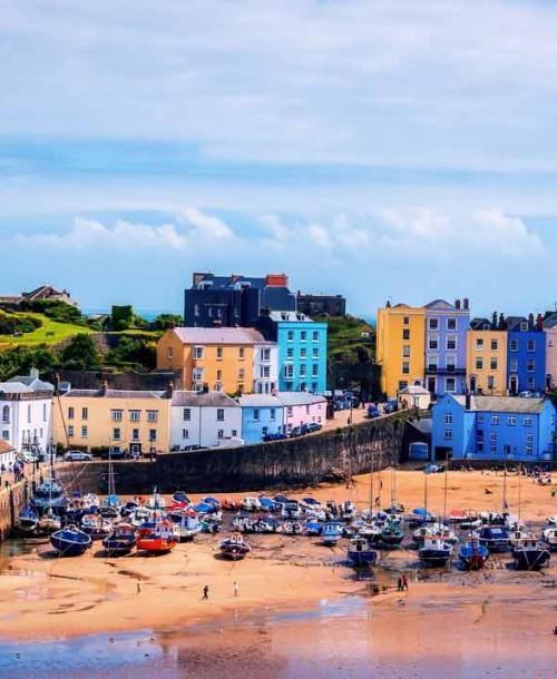 Tenby disfruta del pueblo más cool de Gales