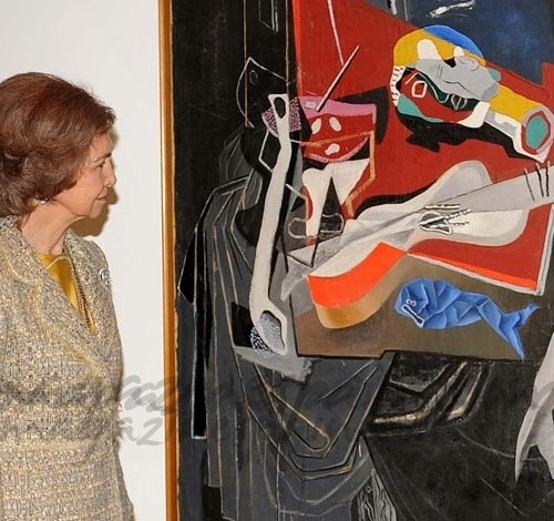En el Museo Reina Sofía…La Reina inaugura la exposición de Dalí
