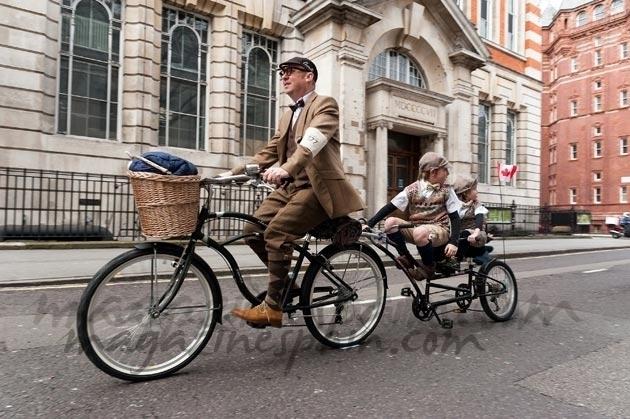Un paseo en bicicleta al pasado