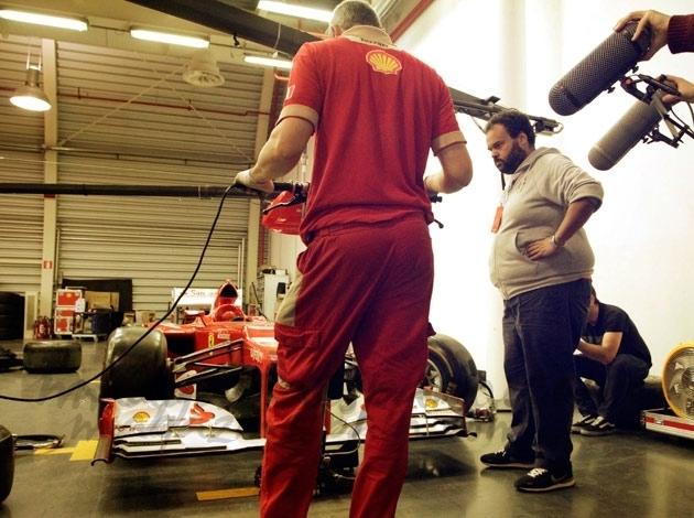 Ferrari y Carlos Jean un duo de lujo