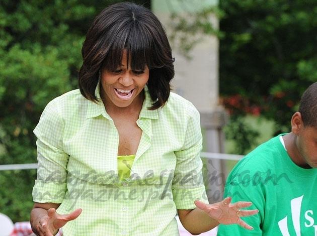 Michelle Obama, una experta jardinera