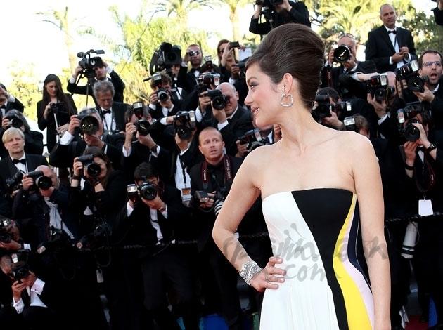 Marion Cotillard glamour sobre la alfombra roja de Cannes