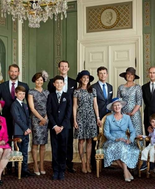 El Príncipe Nicolás de Dinamarca celebra su confirmación