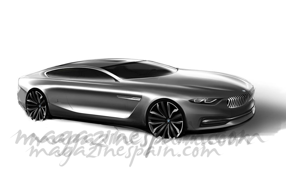 BMW presenta el  «BMW Pininfarina Gran Lusso coupé»