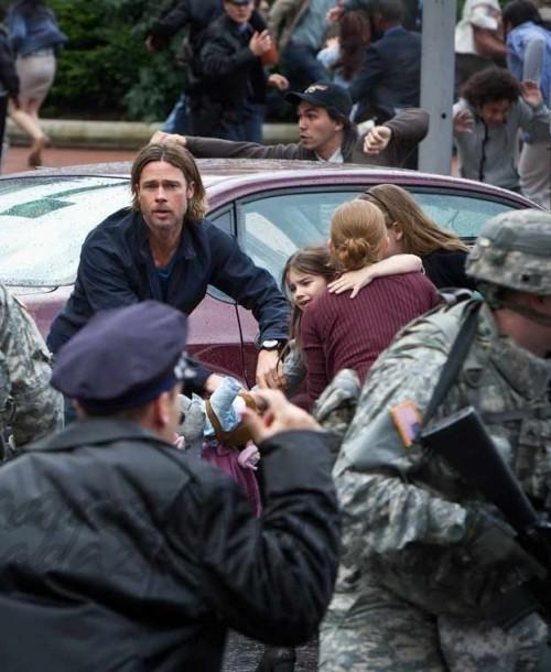 """Muse actuará en el estreno mundial de """"Guerra Mundial Z"""", protagonizada por Brad Pitt"""