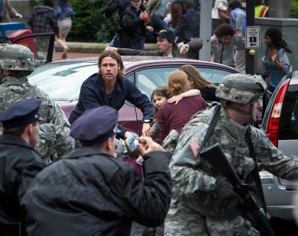Muse actuará en el estreno mundial de «Guerra Mundial Z», protagonizada por Brad Pitt