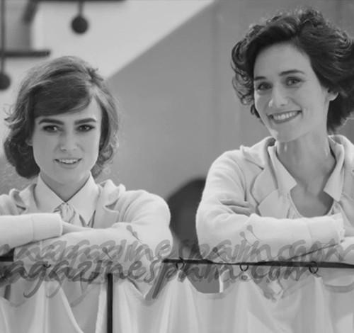 Keira Knightley se convierte en Coco Chanel de la mano de Lagerfeld