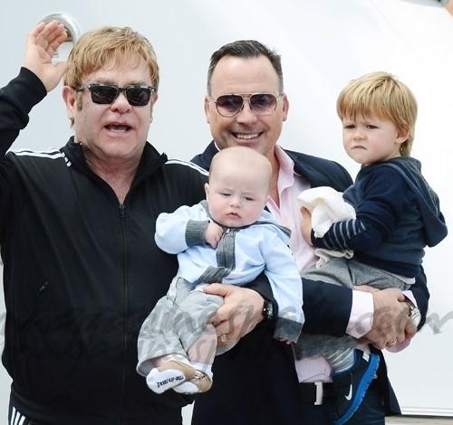 Elton John vacaciones en Venecia
