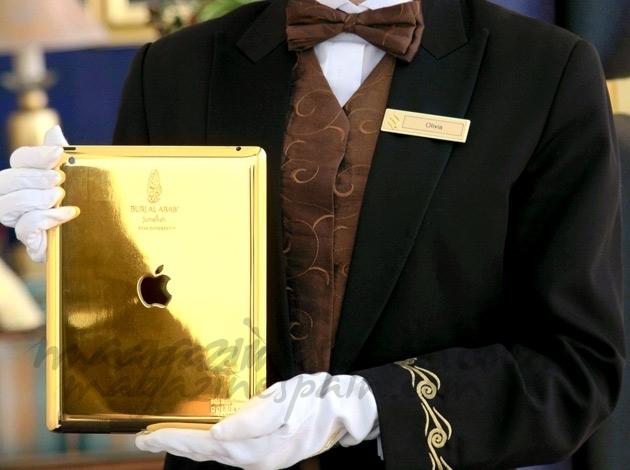 Hotel con iPad de oro, la última excentricidad en Dubái