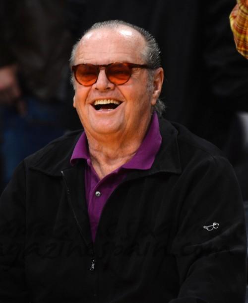 Jack Nicholson, pasión por el baloncesto