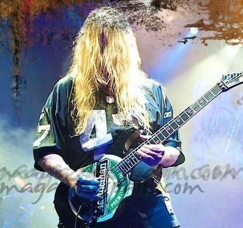 Muere a los 49 años, Jeff Hanneman