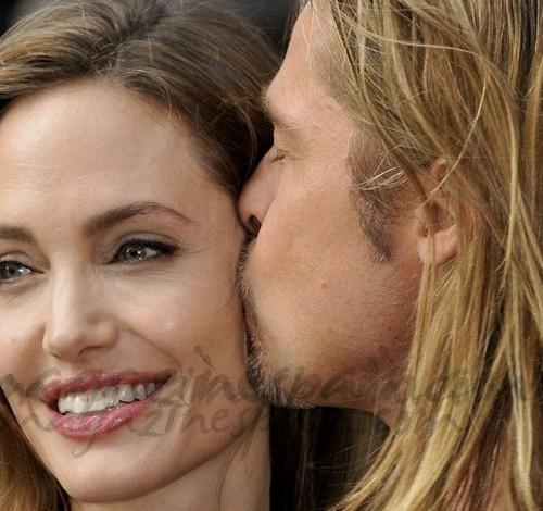Angelina Jolie reaparece con una gran sonrisa