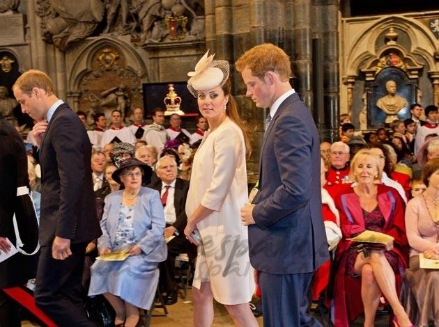 Los Principes Guillermo y Kate celebran 60 años de reinado de la Reina Isabel