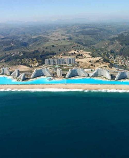 Dónde se encuentra la piscina más grande del mundo