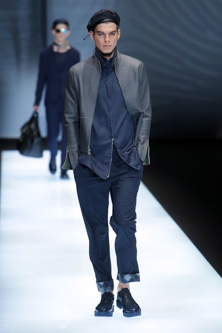 Milan Men Fashion Week 2016: Armani