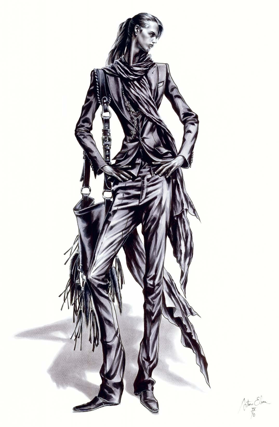 Arturo Elena Ilustración para Roberto Verino