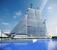 Hospital con diseño de barco
