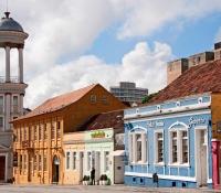 Curitiba Brasil- Barrio Largo da Ordem