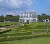 Curitiba Brasil- Jardín Botánico