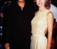 2George Clooney y Celine Balitran (1997)