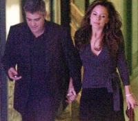 3George Clooney y Krista Allen (2003)