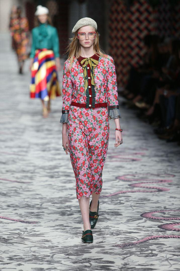 Mil n fashion week 2015 gucci for Gucci milan fashion week