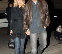 Kevin Costner y Christine Baumgartner 2006